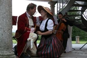 Musik für Firmenfeier - heiterer Mozart