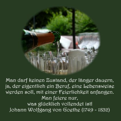 Firmenfeier24 Spruch der Woche Goethe